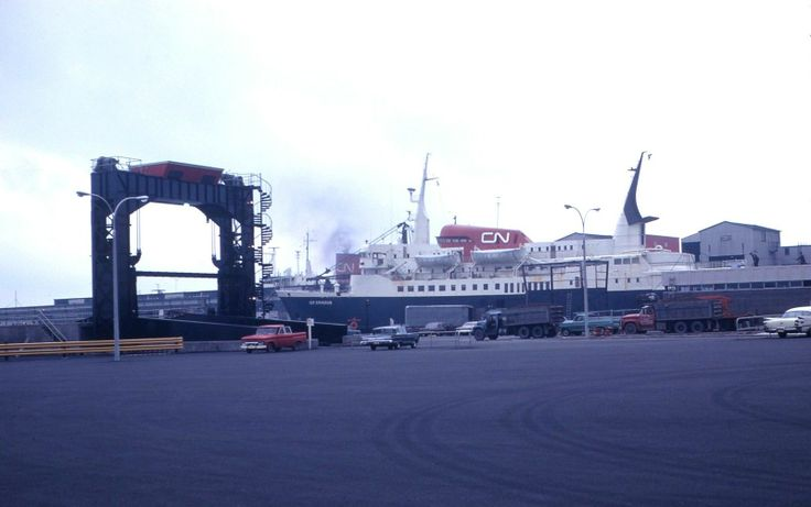Canadian National Newfoundland Ferry Scene In 1968 Cn