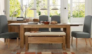 Hartford® Storage Bench and dining set from Next