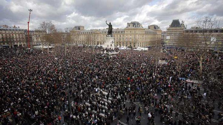 BREAKING! Massive Rally AGAINST Islam In France!