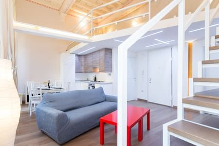 Check out this awesome listing on Airbnb: AMAZING LOFT IN THE CITY CENTER A/C - Lofts for Rent in Florence