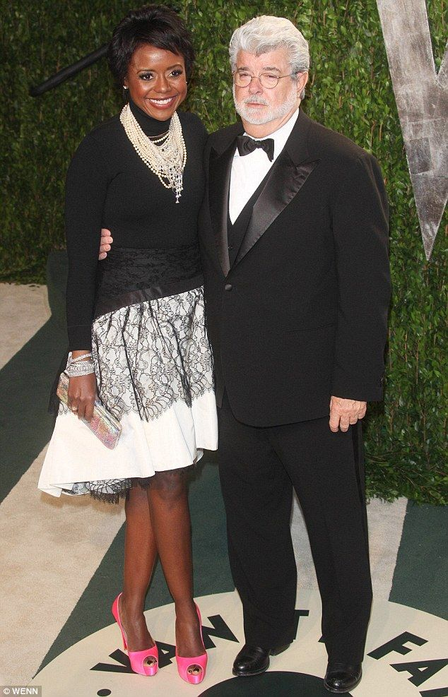 George Lucas, 69, and his wife Mellody Hobson, 44, welcome a baby ...