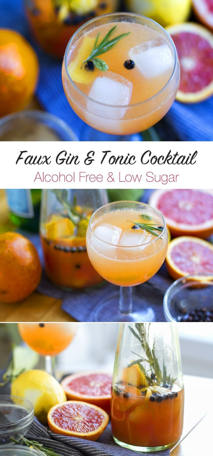 Delicious and refreshing non alcoholic drink inspired by a gin and tonic. This is homemade, low sugar with no additives. Hits the spot! Recipe: eatdrinkpaleo.com...