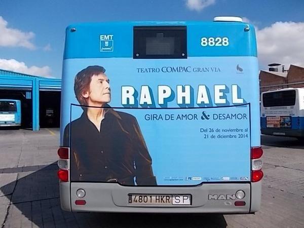 Autobús Madrid 2014