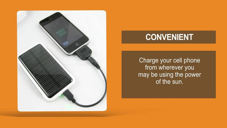 Solar Phone Chargers | The Best Solar Powered Cell Phone Chargers