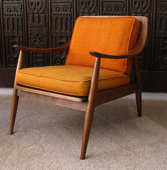 1960s Danish Modern Lounge Chair
