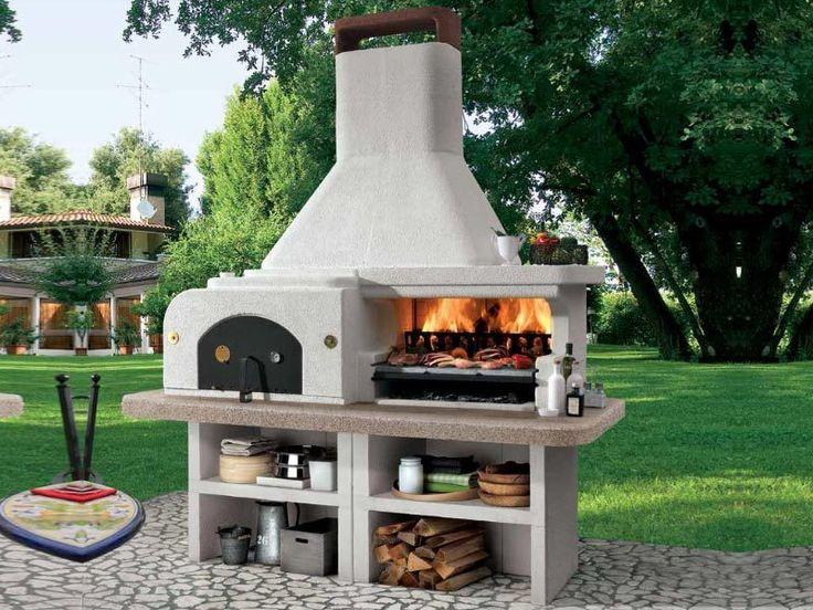 Gargano 3 - Gratare pe lemne | Exclusiv Design - Apa&Foc