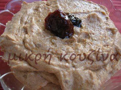 μικρή κουζίνα: Πέστο λιαστής ντομάτας