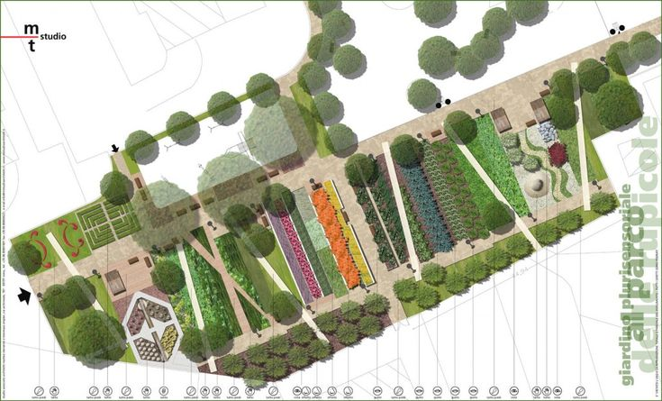 SENSORY GARDEN AT PARCO DELLE RUPICOLE by mtstudio#Repin By:Pinterest++ for iPad#