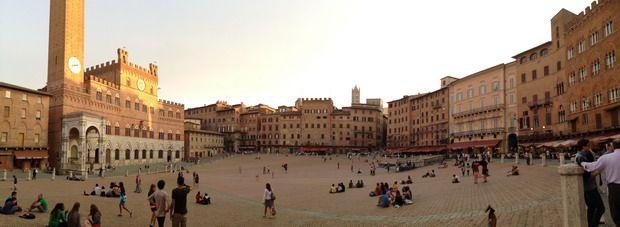Si vuestra luna de miel es un viaje por Italia, no dejéis de visitar Siena.
