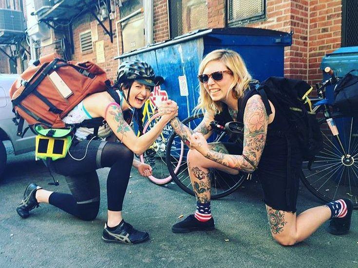 Women Bike Messengers