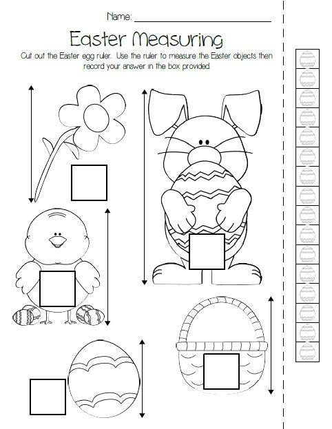 All Worksheets easter worksheets for preschool : 17 Best images about Easter in kindergarten on Pinterest | Easter ...
