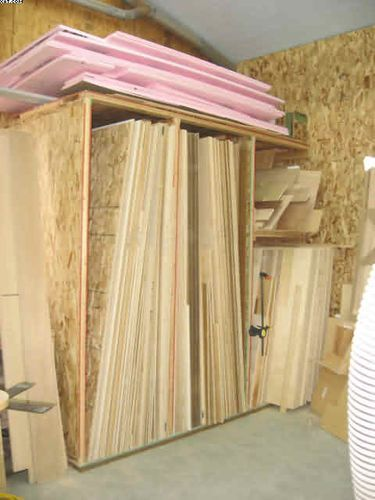 Plywood Lumber Storage Rack Woodworking Projects Amp Plans