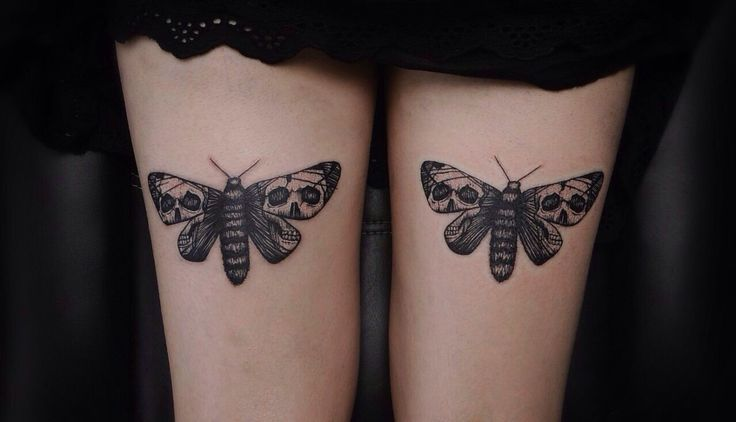 Moth ink.