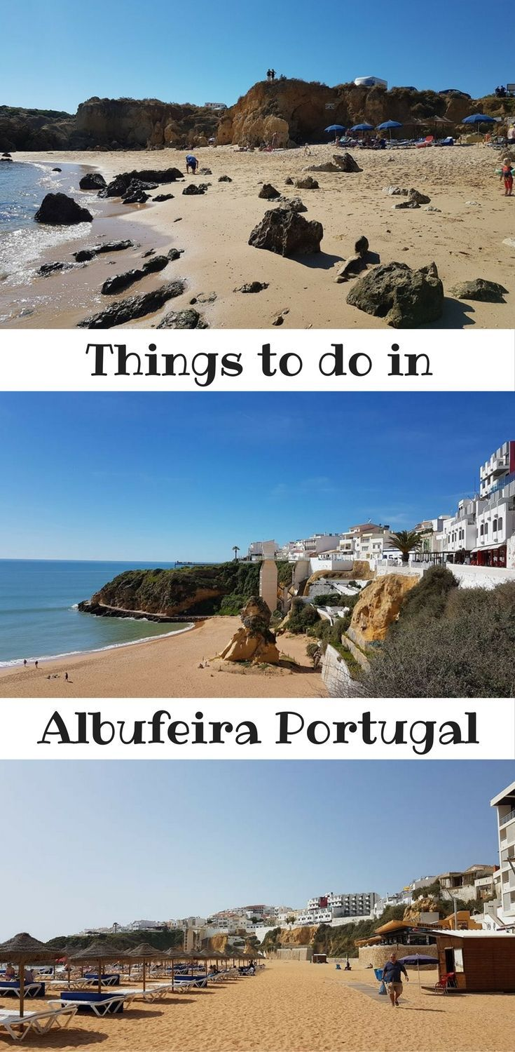 Albufeira is a great town for a holiday on the Algarve. Big sandy beaches and old town and nearby sights everywhere.  ------------------------------------------------ | Things to do in Albufeira | Things to do in Algarve Portugal | Albufeira Old Town | Water parks Albufeira | Best beaches in the Algarve | Albufeira Portugal | Where to stay Algarve |