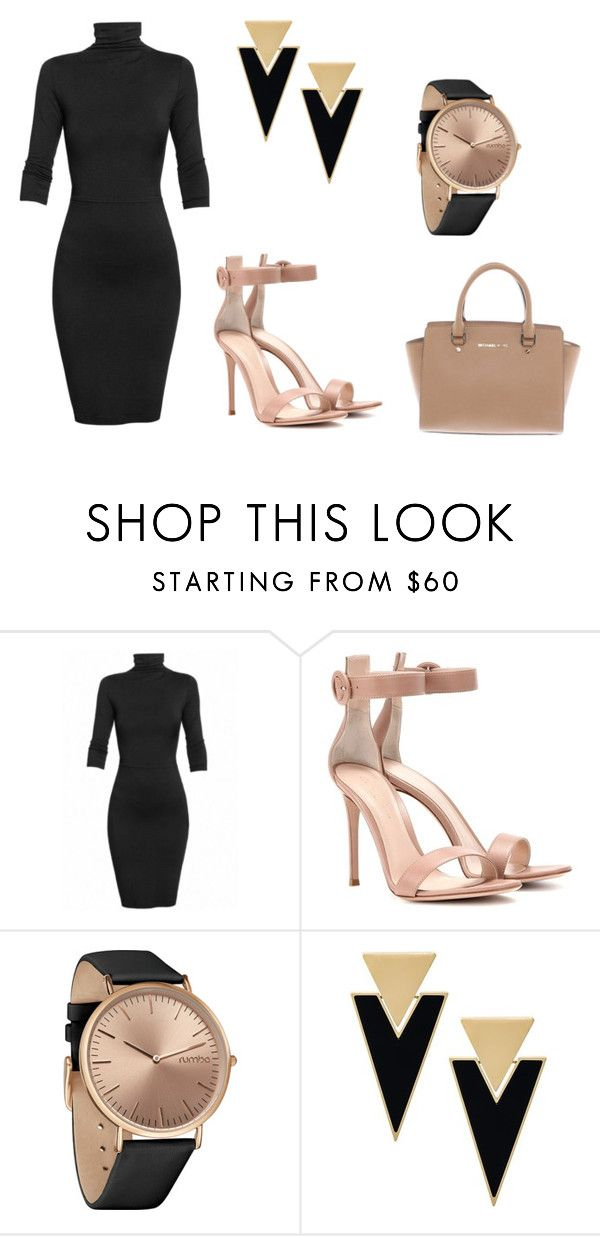 """""""Style Simple For Party #1"""" by quelstylist on Polyvore featuring moda, Undress, Gianvito Rossi, RumbaTime, Yves Saint Laurent e Michael Kors"""