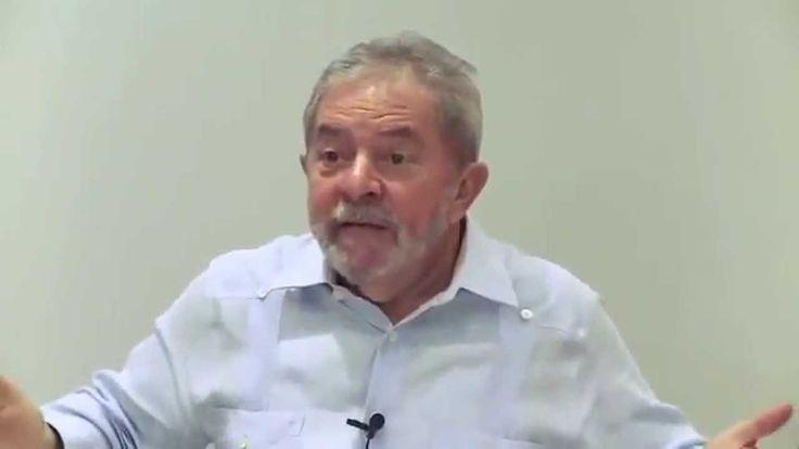 LULA FALA MAL DO BRASIL, DIZ QUE MENTE E RI DAS MENTIRAS