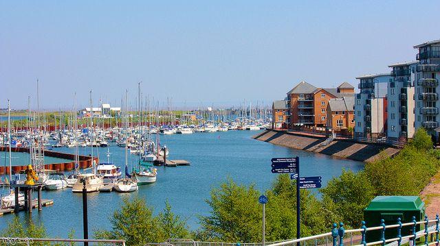 Cardiff Marina - Cardiff, South Wales