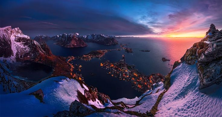 Reine, Norway. The Stunning Photography Of Max Rive Will Leave You Absolutely Mystified • Page 4 of 6 • BoredBug