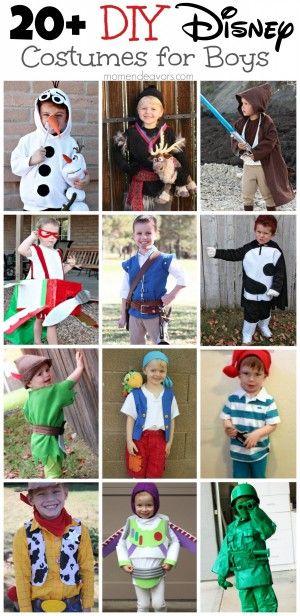 DIY Disney Costumes for Boys