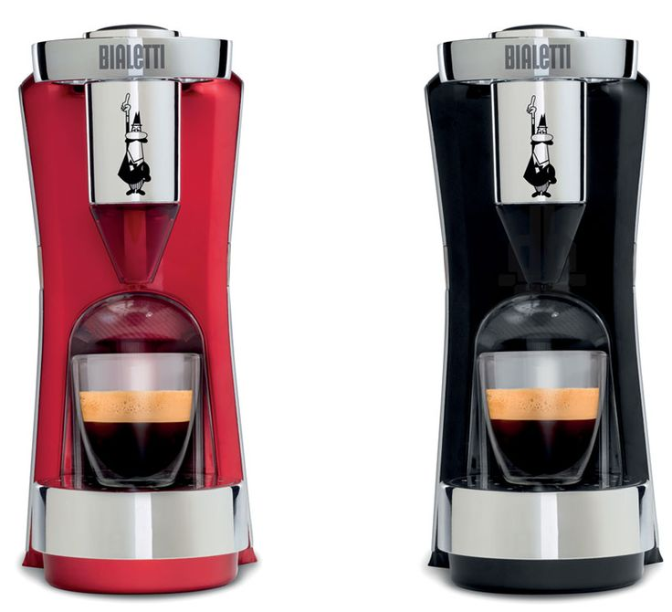 bialetti DIVA pod coffee machine by design group italia