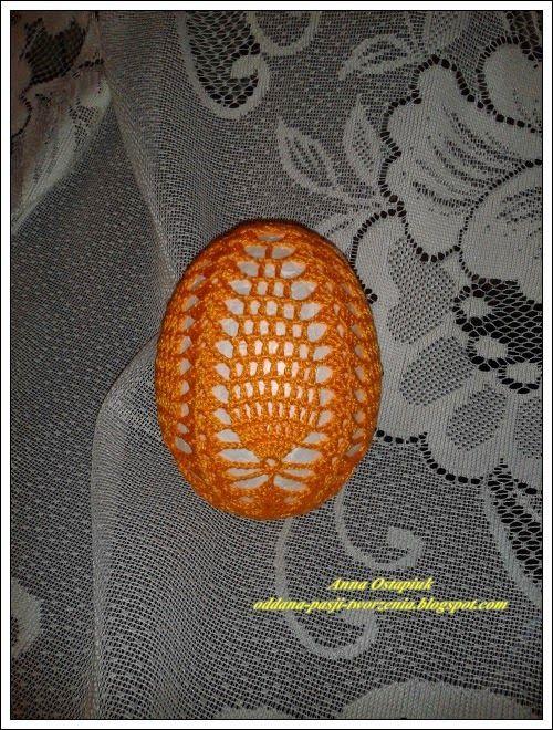Oddana pasji tworzenia...: Pisanka w ananaski