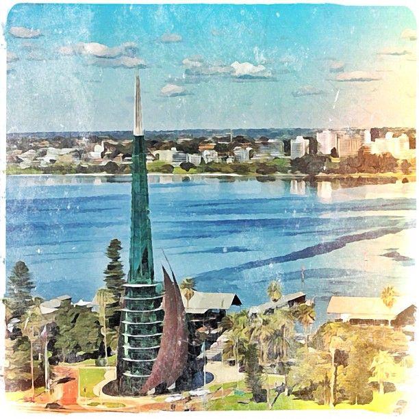 Perth Bell Tower, art edit.