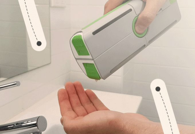 The World's First Multifunctional container to keep your bathroom essentials while on-the-go!