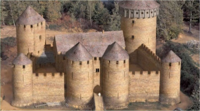 #Guédelon #Puisaye #Yonne #Bourgogne #Medieval #Challenge A new castle? I want one! I know Leonard, the main character in Dragonfriend, hopes to have one this grand one day.   Guédelon Castle – New Medieval Chateau Rises in France ~ Kuriositas