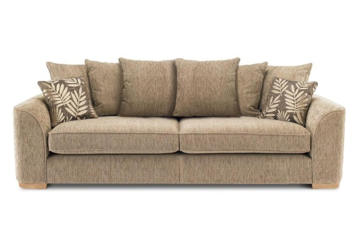Furniture Village Hennessey 4 seater casual back sofa (split frame) - lonsdale - sofa sets