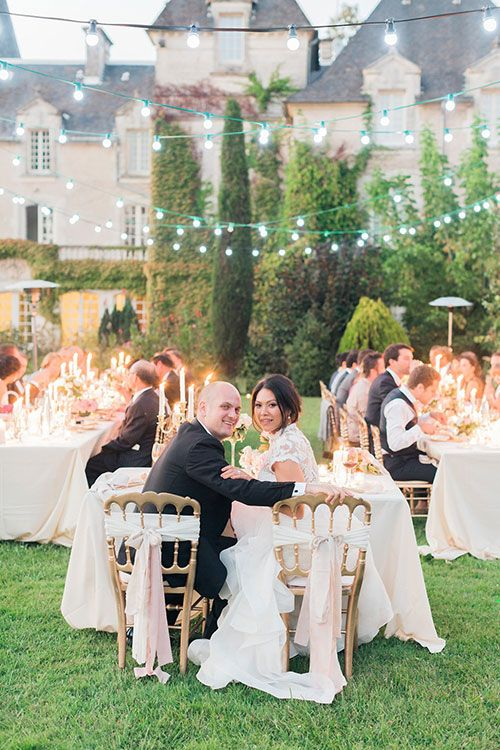 Romantic Multi-Day French Chateau Wedding | Brides.com