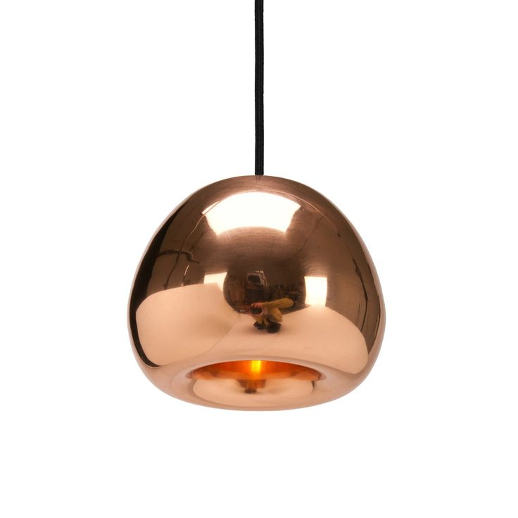 A unique double walled design, the Void is inspired by the bronze, silver and gold lustres of Olympic medals. Using a complex process of pressing, spinning and brazing solid sheets of brass, copper or stainless steel, this pendants high gloss finish manages to create both a mirrored and translucent finish.