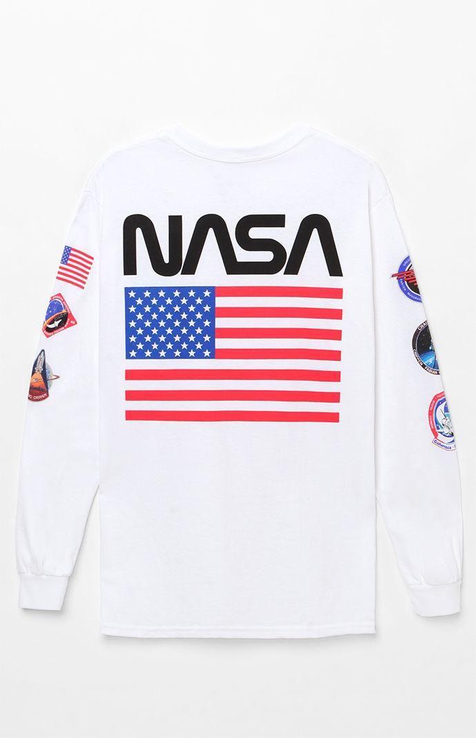 Movie The Martian NASA Logo t-shirt up Cotton Printed Sweatshirts summe t-shirt