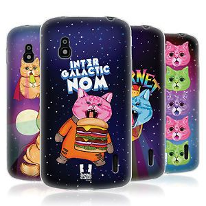 HEAD-CASE-CATS-IN-SPACE-SILICONE-GEL-CASE-FOR-LG-NEXUS-4-E960