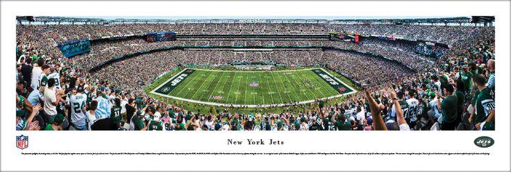 New York Jets Panoramic Picture - MetLife Stadium Panorama - Unframed $29.95