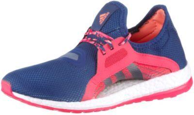 adidas PureBoost X Laufschuhe Damen blau/rot -