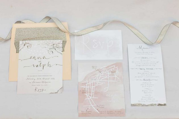 unique wedding stationery by Gemma Milly | Bridal Musings (2)