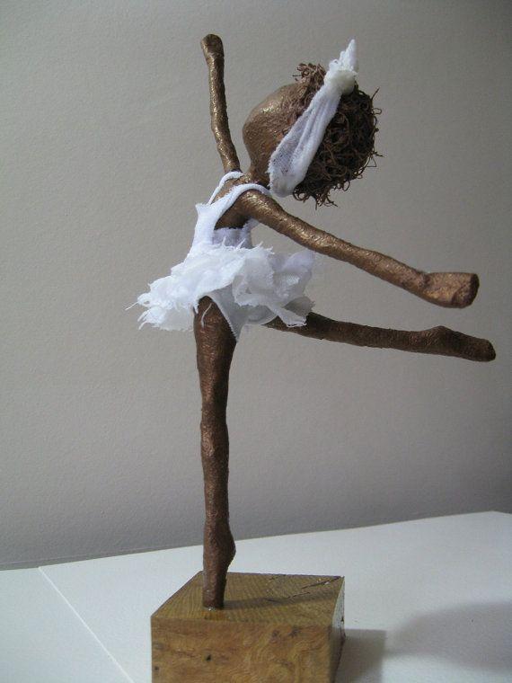 Ballerina sculpture. Available