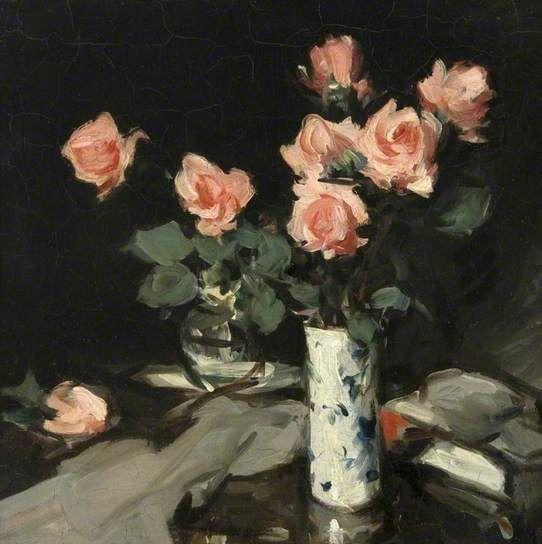 Roses by S.J.Peploe