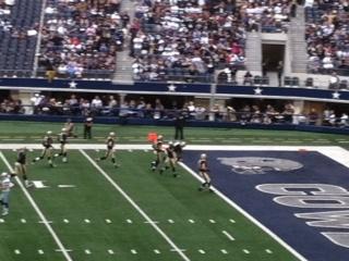Saints vs cowboys 12/23/12