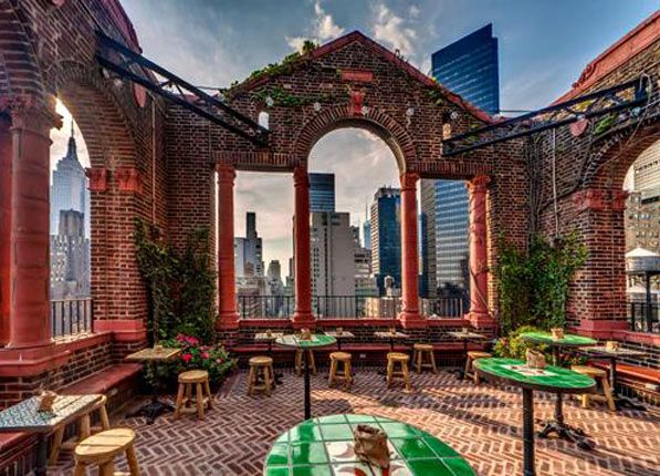 Pod 39 April Bloomfield's Salvation Taco may be the best-known amenity at this Murray Hill hotel, but we like to think the framed roof deck is the real star. 145 E. 39th St. (at Lexington Ave.); 212-865-5700 or thepodhotel.com