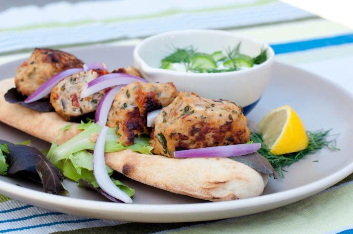 Lean Mediterranean chicken meatballs by Cook Smarts are a versatile food you can serve up for lunch or dinner. They're also an excellent way to hide veggies your family should be eating--try adding...