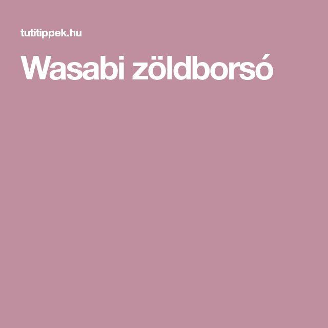 Wasabi zöldborsó