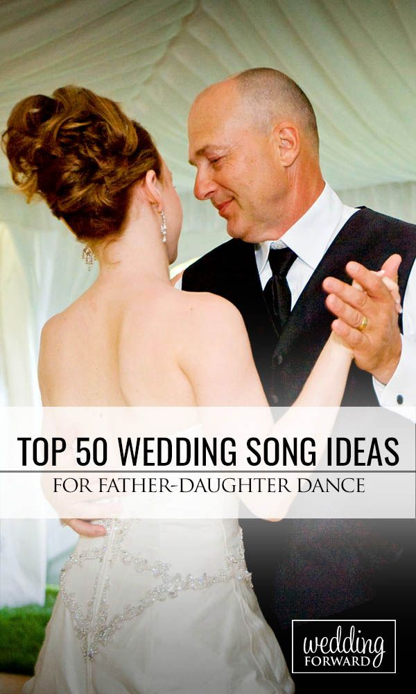 Top 50 Father-Daughter Wedding Dance Song Ideas ❤ There are many elements that make up a perfect father father-daughter wedding dance song. See more: http://www.weddingforward.com/father-daughter-wedding-dance-song-ideas/ #weddings #weddingplanning