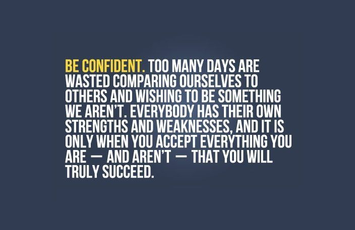 """ACCEPT YOURSELF - """"Everybody has their own strengths and weaknesses. It is only when you accept everything you are - and aren't - that you will truly succeed."""" (View only)"""