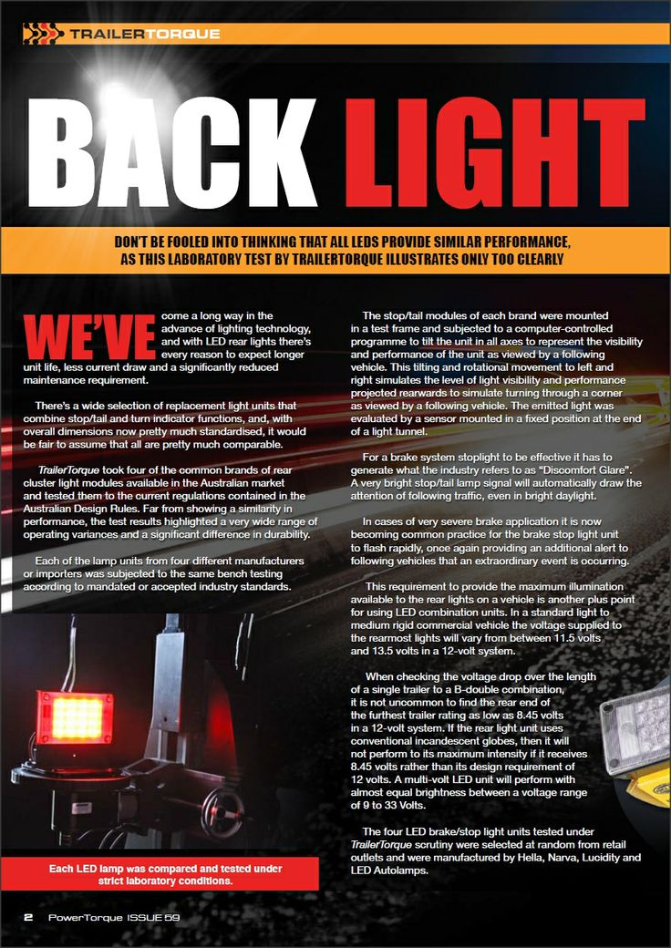 BACK LIGHT - Not all LEDs are the same #hella, #led, #ledlights