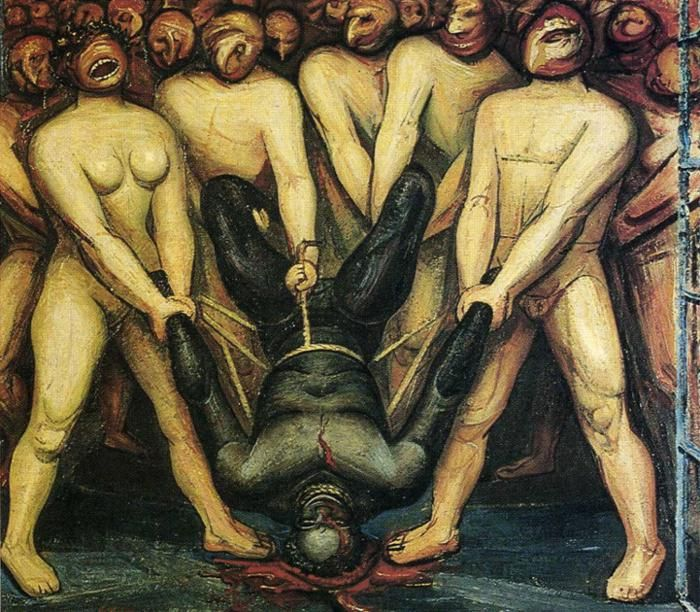 Cain in the United States, 1947			David Alfaro Siqueiros - by style - Muralism