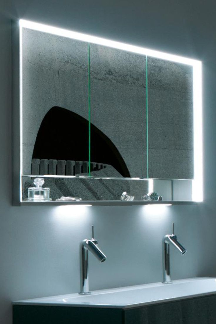 Keuco Royal Lumos Der Unterputz Spiegelschrank Wird In Die Wand Eingelassen Und So Zum Prakt Unterputz Spiegelschrank Spiegelschrank Badezimmer Spiegelschrank