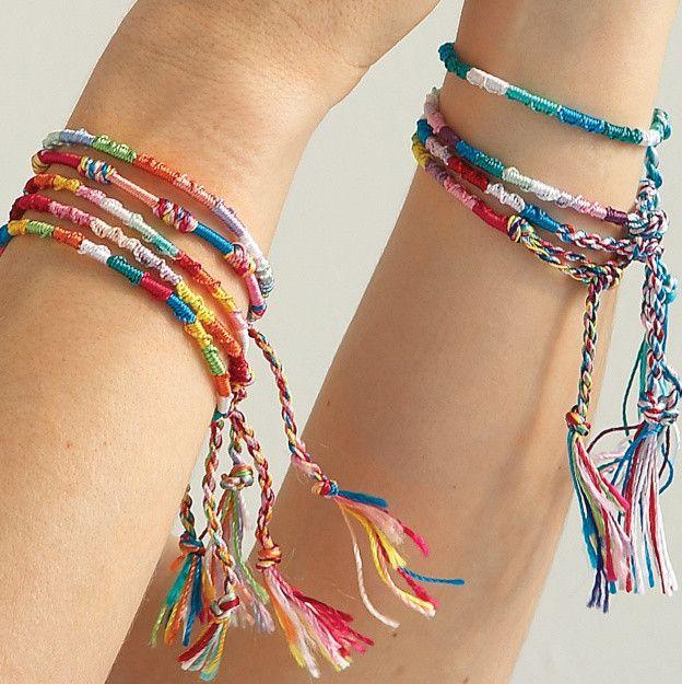 String Friendship Bracelet