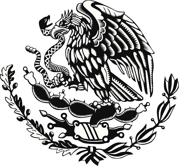 Mexican Flag Black And White Collection 68 Download Free Best Quality On Clipart Email Mexican Tattoo Mexican Art Tattoos Aztec Tattoo