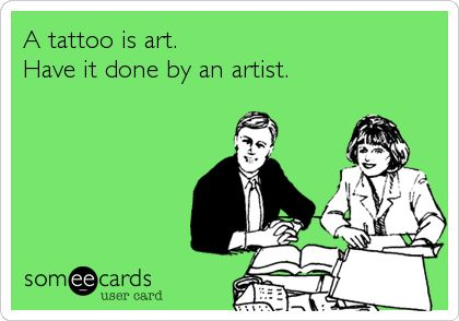 14 best Tattoo ecards images on Pinterest | Ha ha, Funny stuff and